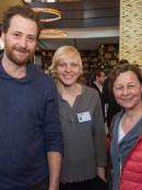 Christian Erdmann , Anne Müller und Silke Fintelmann